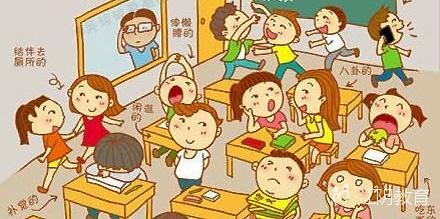 下课铃声一响,安静的校园就顿时沸腾起来了,在喧闹的时间里,学生有的
